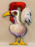 #03 White Rooster