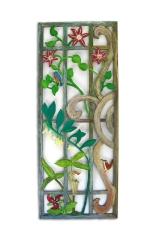 #29L Floral Panel - SOLD